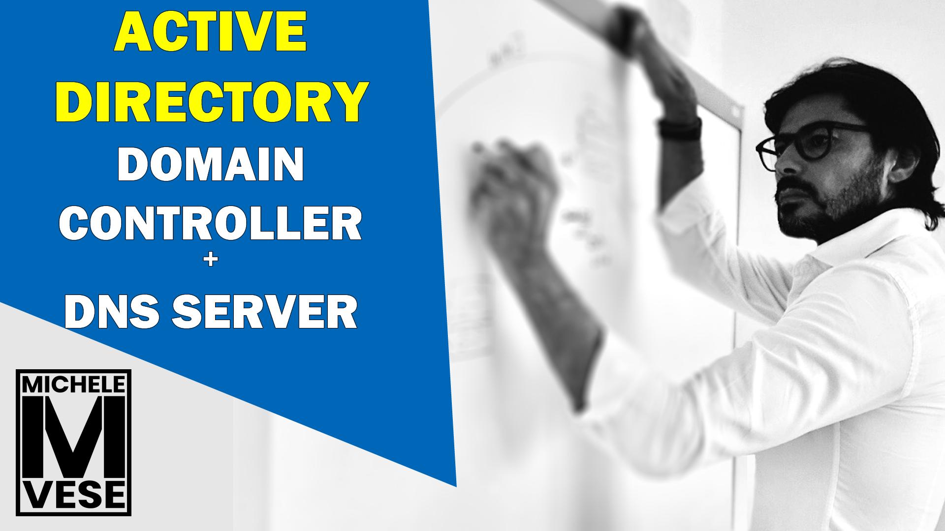 Active Directory Domain Controller e DNS Server